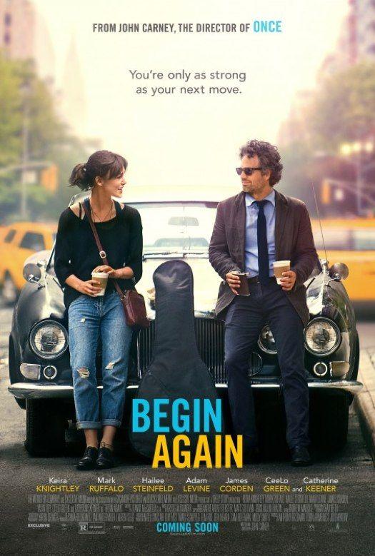 "Kiera Knightley and Mark Ruffalo in ""Begin Again"" movie trailer"