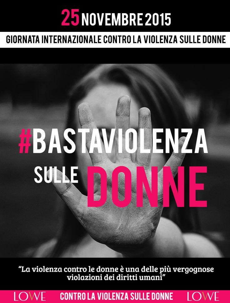 Diciamo BASTA alla violenza sulle donne! #giornatainternazionalecontrolaviolenzasulledonne #stopviolenzasulledonne #noviolenzasulledonne