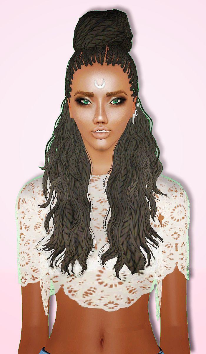 Sims Hair, Boy Hairstyles, African