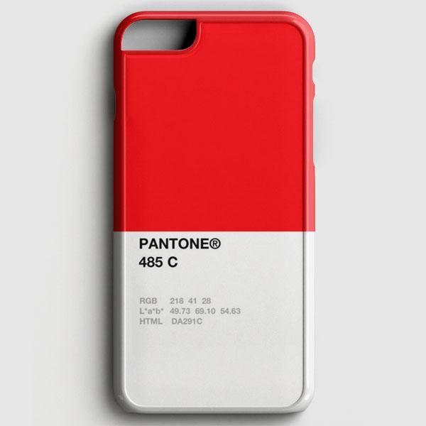 Pantone 485 C iPhone 7 Case