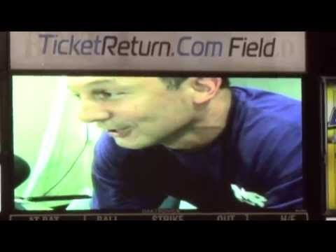 Ouch !!! :-)) Myrtle Beach Pelicans GM Andy Milovich Gets Live Prostate Exam Sings Tak...