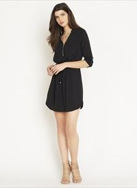 Shirt Dress with Zip. Get substantial discounts up to 50% Off at Dynamite Clothing using coupon & Promo Codes.