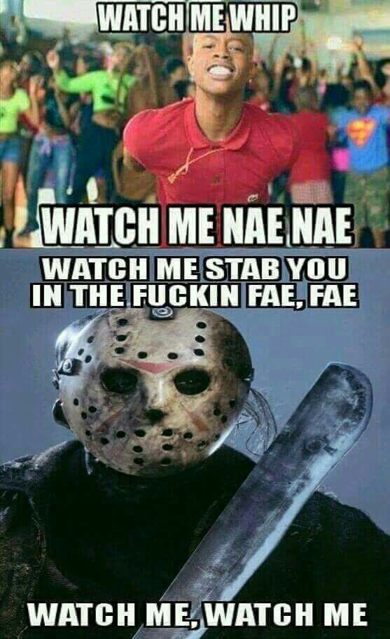 This would make a great Friday the 13th part 25 (or whatever they're up to now)