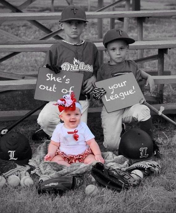 Cute Cute !! Would love to do this with all my brothers around the baby!
