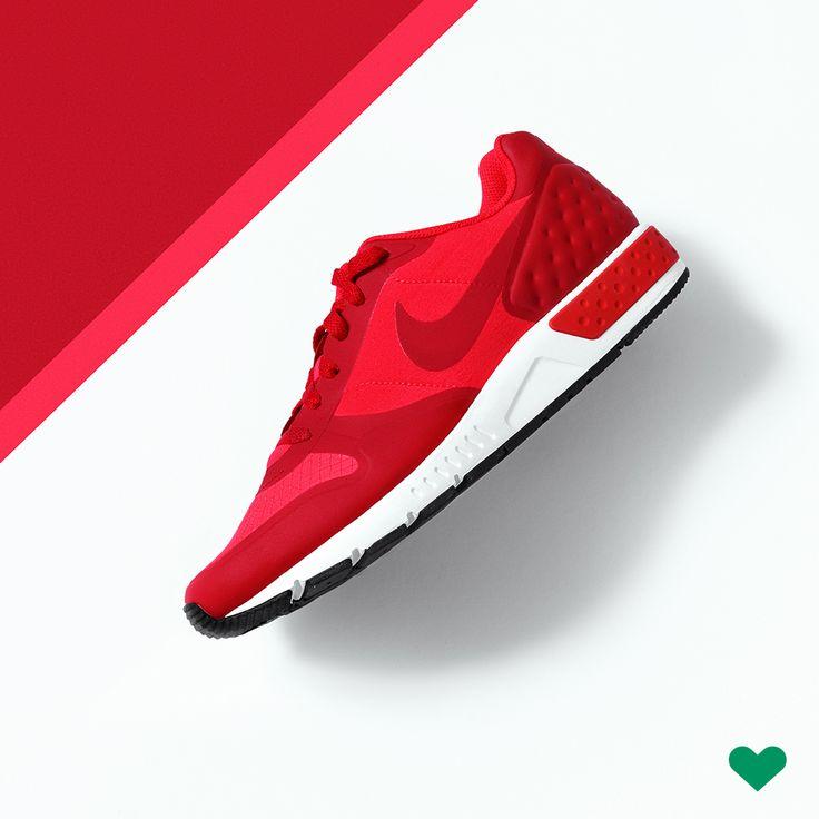Nike Sneaker Rot Damen