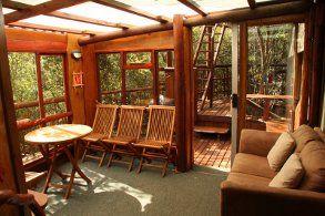 Family Treehouse, Teniqua Treetops, Krysna, Western Cape, South Africa.