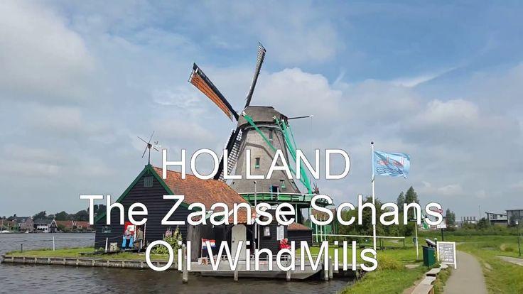 #ZAANSE SCHANS  #Holland   WindMill #amsterdam