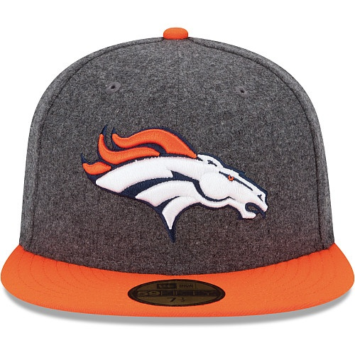 Men's New Era Denver Broncos Melton Basic 59FIFTY® Structured Fitted Hat - NFLShop.com