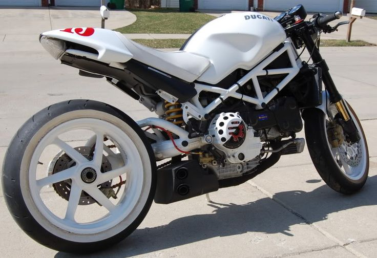 ducati monster s4rs custom | 2005 Ducati Monster S4R Completely Custom - evolutionm.net