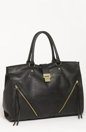 Lulu Zip Detail Satchel available at #Nordstrom
