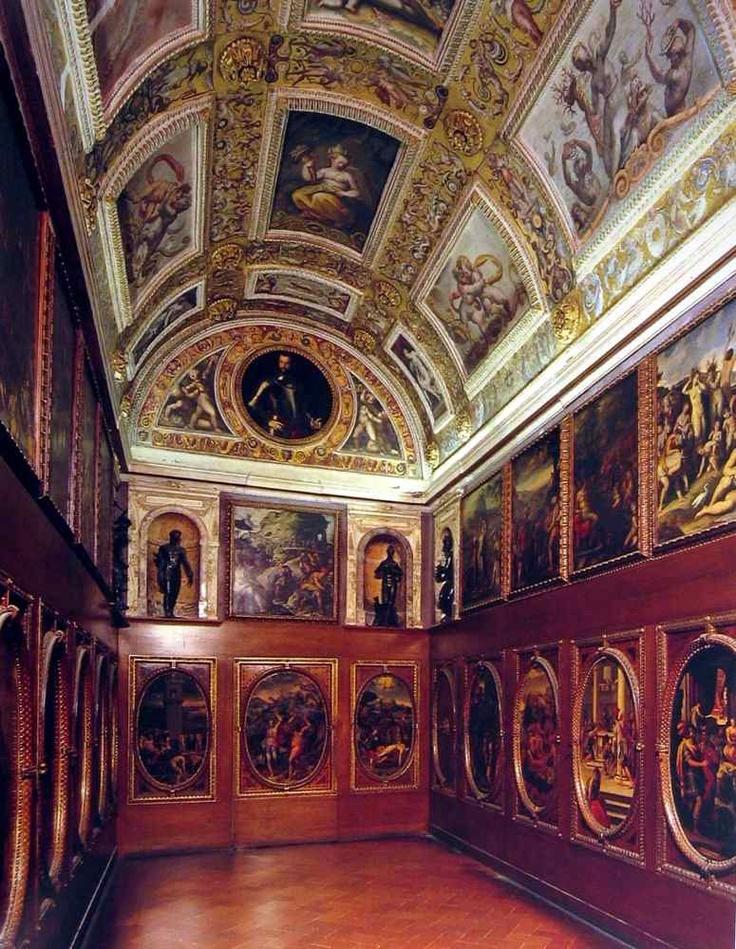 Studiolo of the great Italian Renaissance arts patron ...