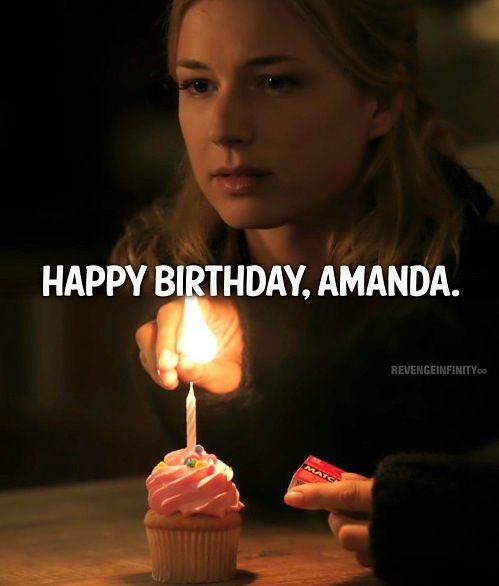 """HAPPY BIRTHIDAY """"Amand"""" Revenge ❤"""