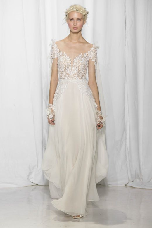 1229 best rustic wedding dresses images on pinterest rustic reem acra fall 2017 collection wedding attiresexy junglespirit Choice Image