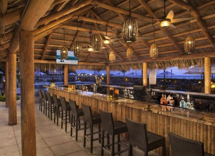 Lido Beach Resort Unveils Renovated Tiki Bar Sarasota, Florida.