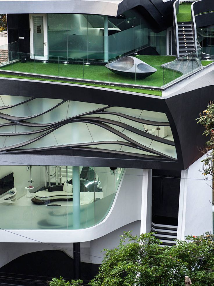Futuristic Melting House In India Part 81