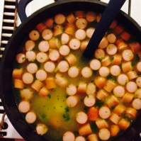 Rezept Klare Kartoffelsuppe von Majorica - Rezept der Kategorie Suppen