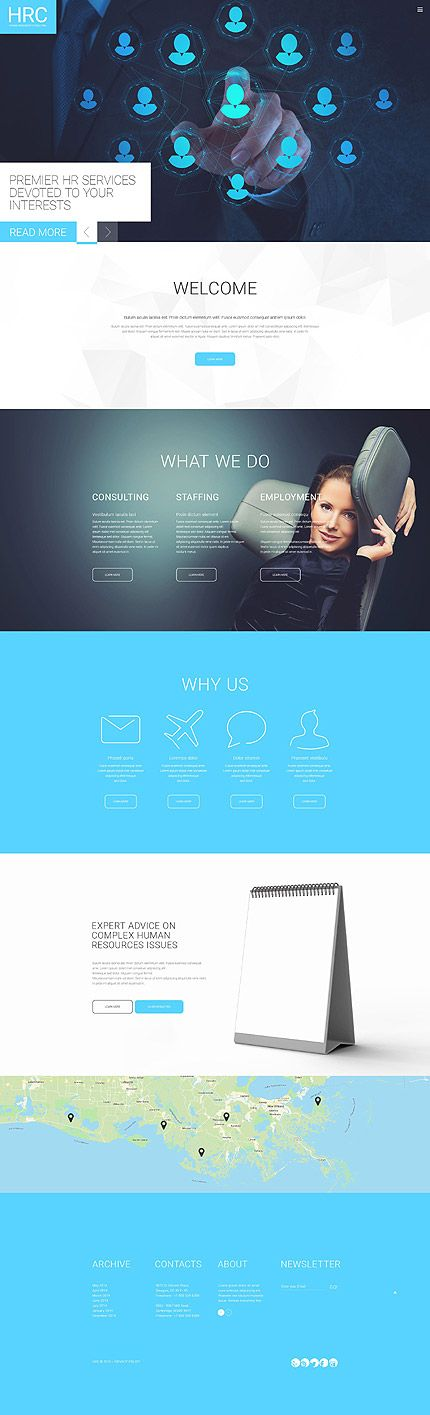 Human Resources Consulting #website #template. #themes #business #responsive #websitethemes