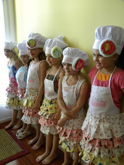 cooking party for girls