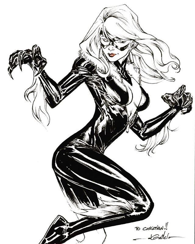 Felicia Hardy Aka Black Cat Marvel Disney Marvel Comics Hero
