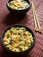 Thumbnail image for veg fried rice recipe – how to make vegetable fried rice