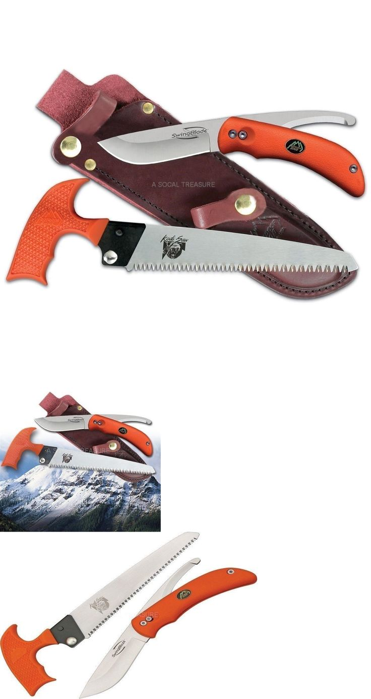 Butchering Knives and Tools 178084: Gutting Skinning Knife Set Outdoor Edge Swingblade Japanese Stainless Blades -> BUY IT NOW ONLY: $96.99 on eBay!