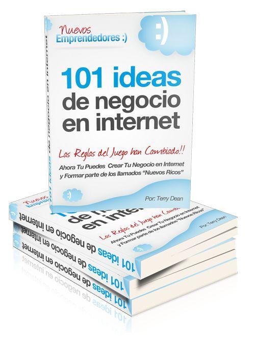 101 Ideas de Negocio en Internet. eBook Gratuito | Si estás pensando en crear tu propio negocio en internet como alternativa a la situación laboral actual, y no sabes por donde empezar o que nicho  ... ➜http://nuevosemprendedores.net/101-ideas-de-negocio-en-internet-ebook-gratuito/