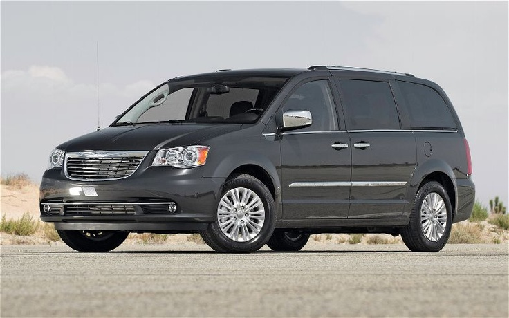 Chrysler Town and Country, the perfect family van! my dream car