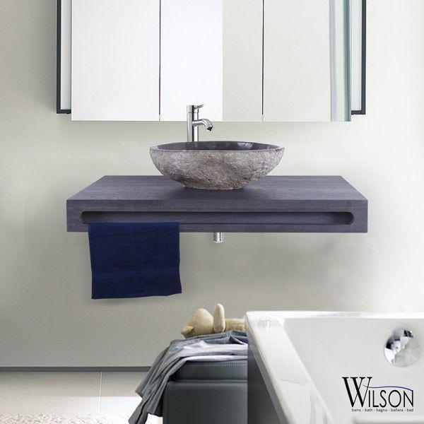 10 best Plans suspendus Salle de bains - Wilson images on Pinterest - porte serviette a poser