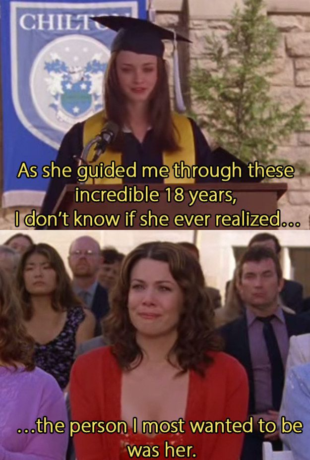 You're fortunate enough to have grown up with a mom who somehow managed to also be your best friend and role model. | 24 Signs You And Your Mom Are Actually The Gilmore Girls