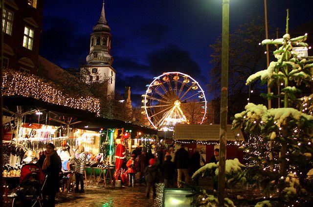 Christmas Market , Aalborg Denmark