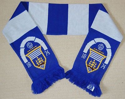 GREENOCK MORTON FC football bar scarf Scotland (09/04/2013)
