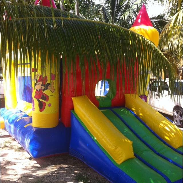 Renta de Brincolines Twister Party