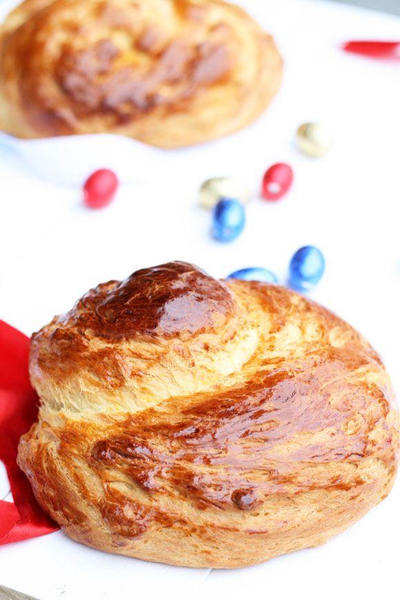 TSOUREKI ( Easter Sweet Bread ) - Cookmegreek, Authentic Greek recipes