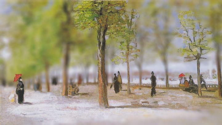 Vincent van Gogh is renowned for his Post-Impressionistic paintings, depicting open air scenes with lush color and swirling movement. Using Photoshop, Redditor melonshade has reimagined some of the artist's masterpieces, blurring the backgrounds as if filtering the works through a tilt-shift lens. The digital technique appears like a modern cousin to the hyper-stylized aesthetic of the Post-Impressionism movement, warping sharper shapes into softened forms to heighten sensory and emotional…