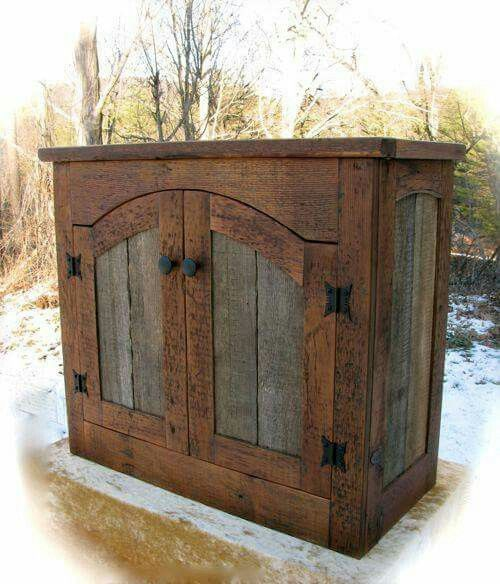 528 best Pallet Cabinets images on Pinterest   Woodworking, Bathroom ...