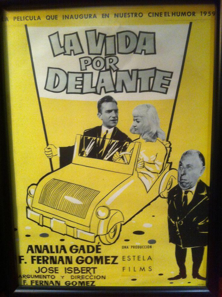 """""""La vida por delante"""", Fernando Fernán Gómez, 1958. Con Analía Gadé, Fernando Fernán Gómez, Rafaela Aparicio, José Isbert... http://estelafilms.com/pelicula.php?url=la-vida-por-delante"""