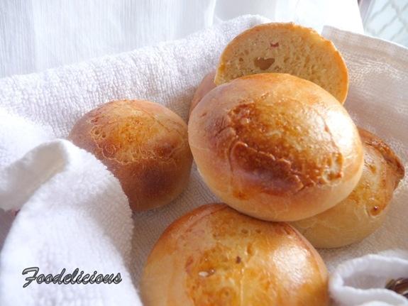 Bread Rolls Using Potato Flakes