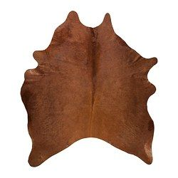 KOLDBY Cowhide - IKEA..in case we ever have a boy=cowboys and indians room.