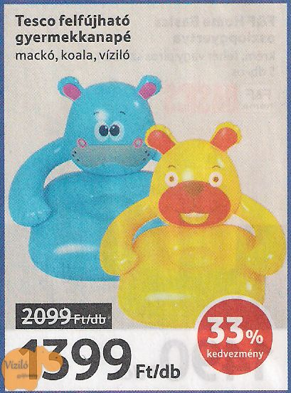 No. 795 | víziló | újságkivágás | Tesco | hippo | press cutting