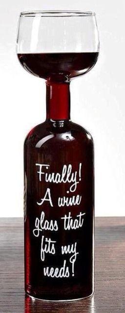 bottomless wine glass
