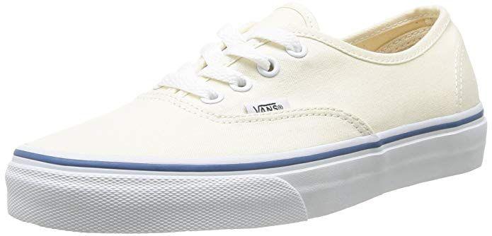 Vans Authentic Sneakers Damen Herren Unisex Weiß | Vans shoes ...
