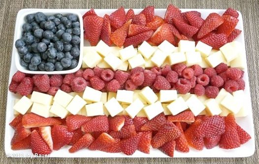 Fourth of July DIY cheese tray by The Better Tray