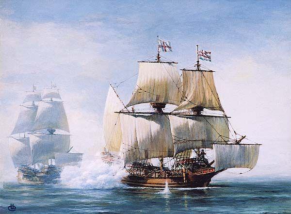 The golden hind, Sir Francis drakes ship