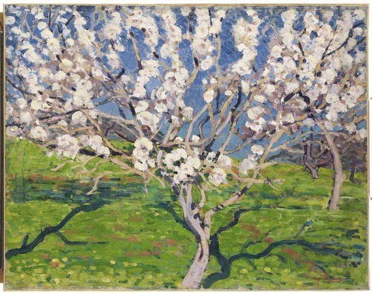 Réunion des musées nationaux Thomas-William Marshall: Amandiers en fleurs, Corse