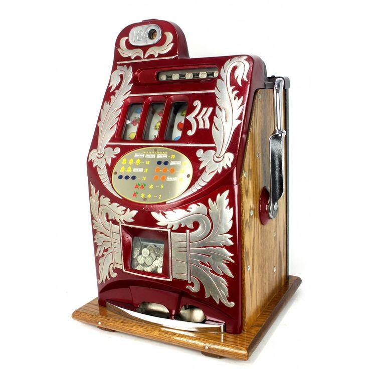 Accessory casino collectible part slot gambling set