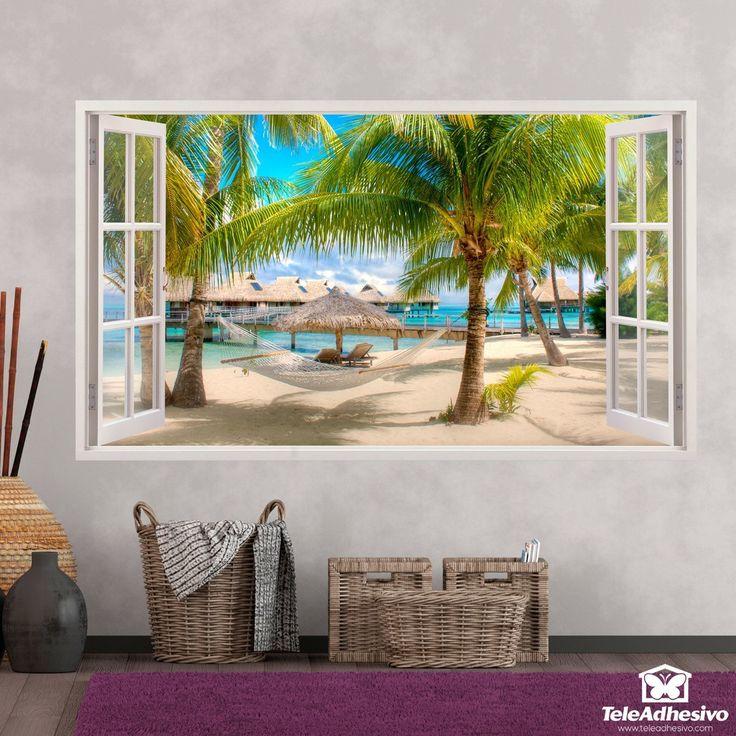 Vinilos adhesivos decorativos de ventanas- Teleadhesivo