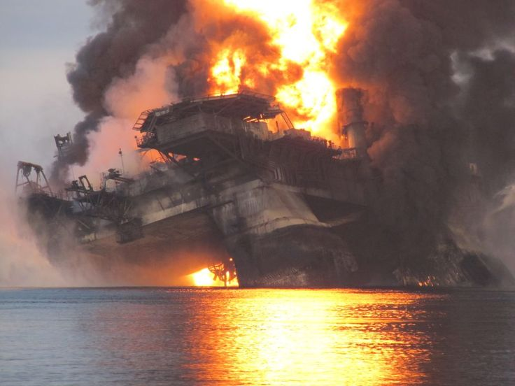 Deepwater Horizon - point of collapse