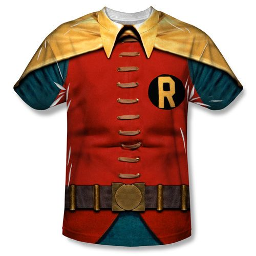Have you ever wondered what it would be like to be the sidekick of perhaps the greatest crime fighter the world has ever known? If so, show it off in style with this awesome Robin t-shirt! Designed to