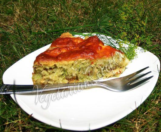 Кабачковый пирог - рецепт с фото