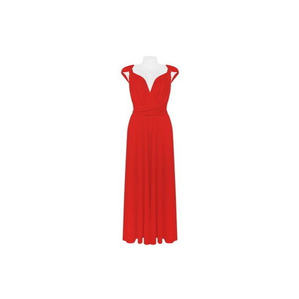 Red Infinite Ways Dress via Polyvore featuring dresses, going out dresses, lycra dress, red going out dresses, holiday party dresses and red spandex dress